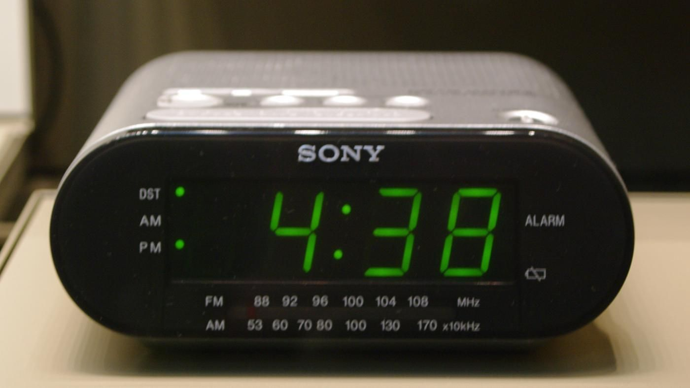 sony dream machine alarm clock instructions