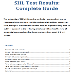 Shl test questions and answers pdf free download