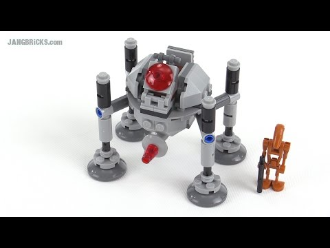 lego star wars microfighters homing spider droid instructions