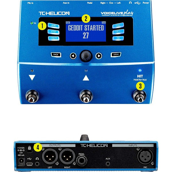 tc helicon play acoustic user manual