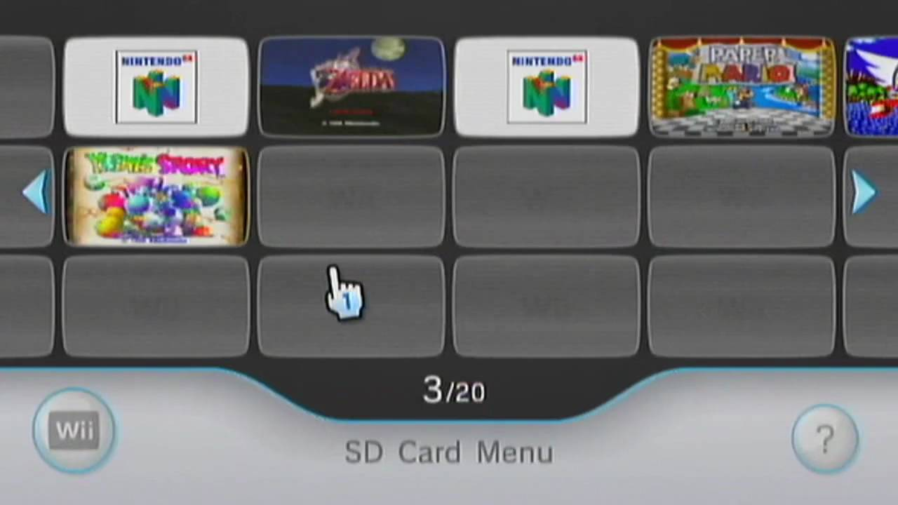 Wii how to play iso from sd card