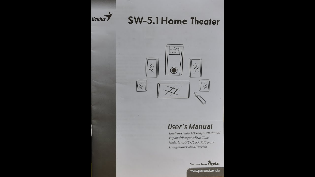 philips 5.1 home theater user manual