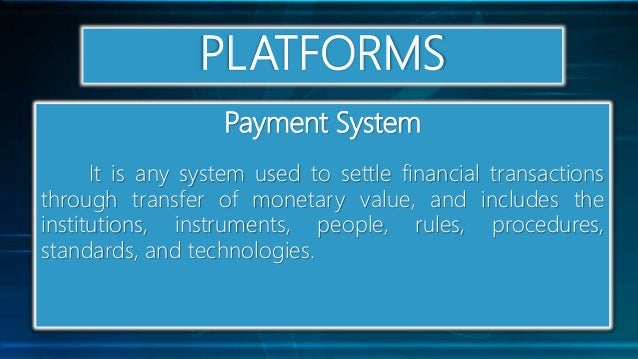 Online systems functions and platforms pdf