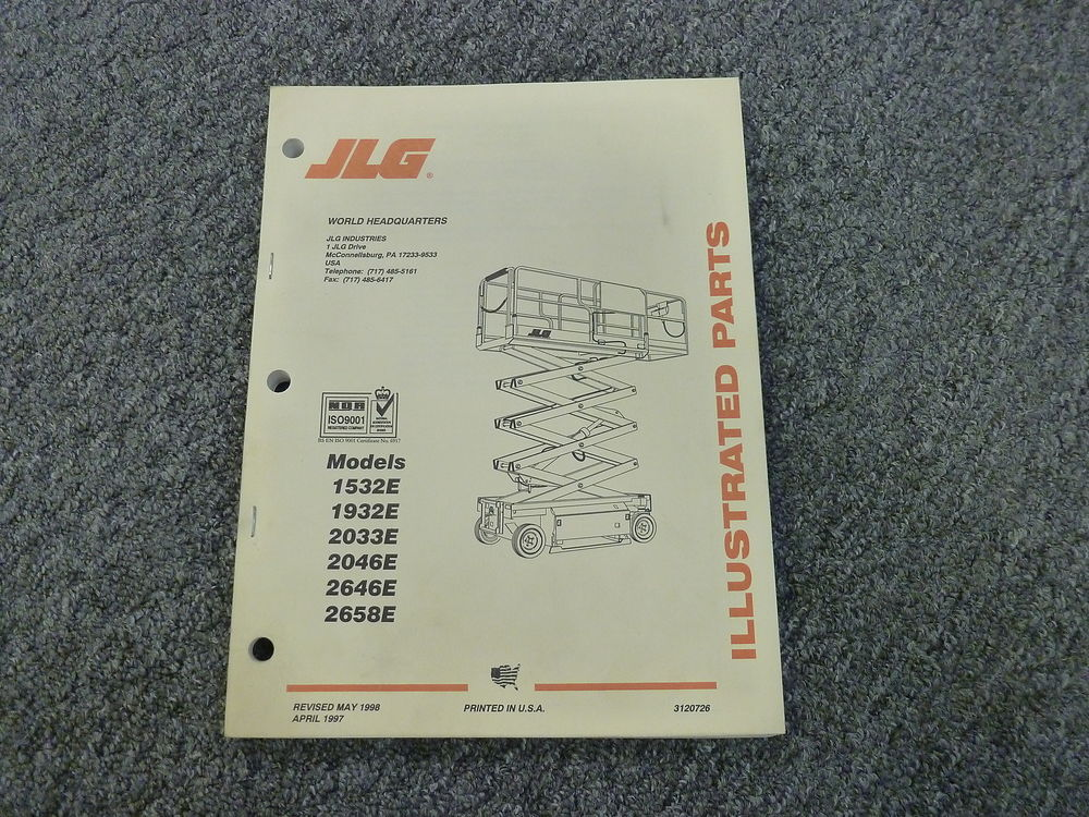 Jlg scissor lift manual pdf
