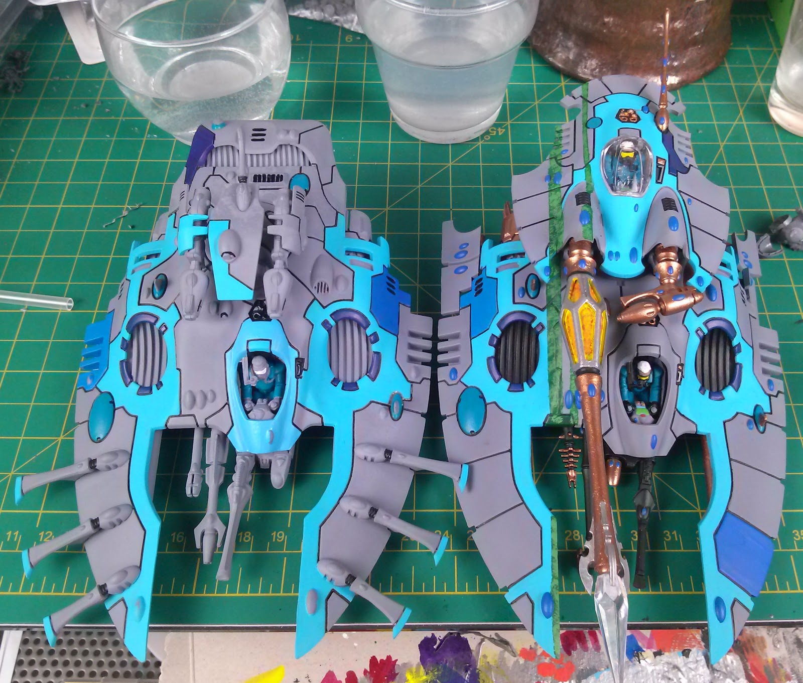 eldar wave serpent instructions