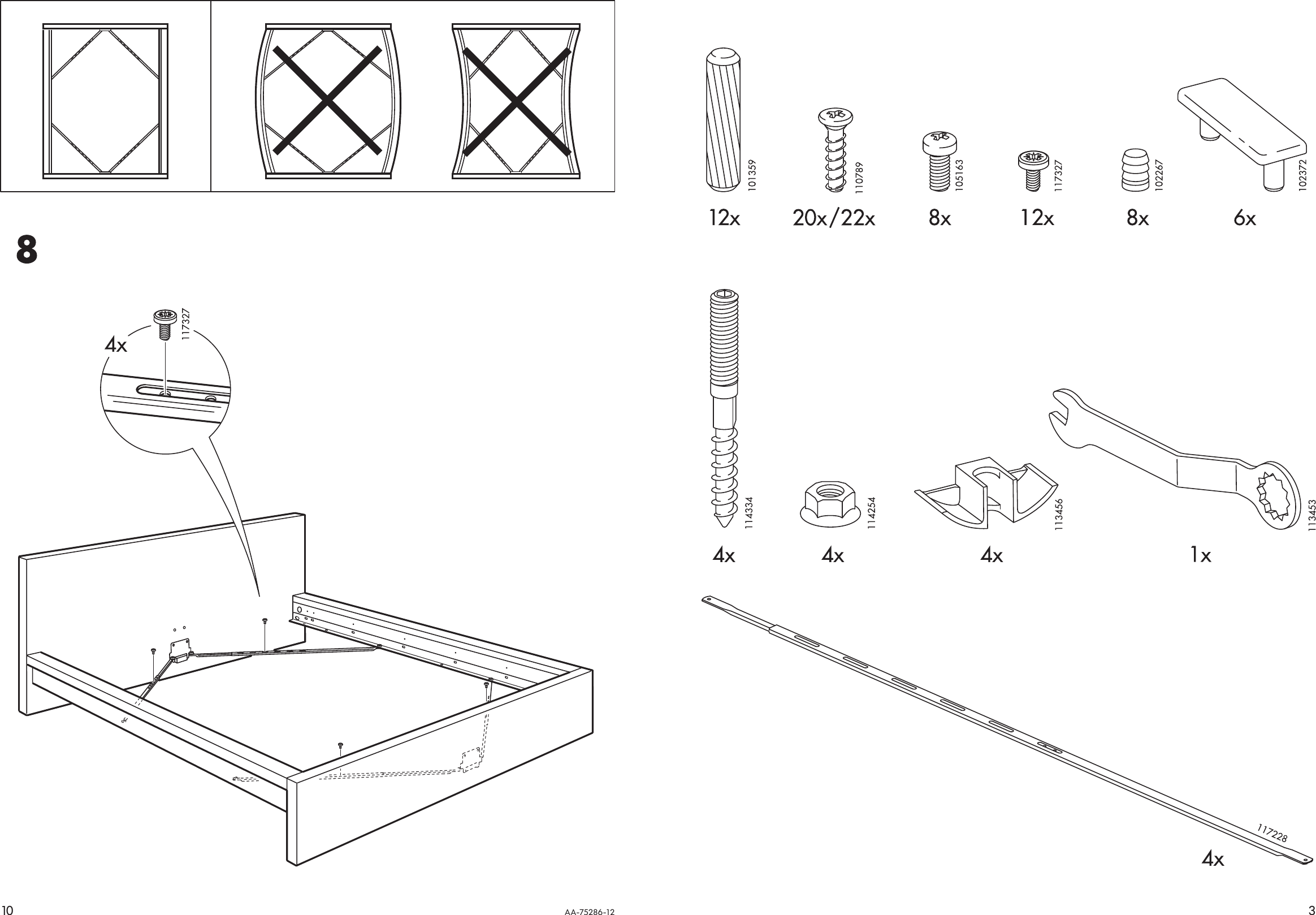 ikea malm bed frame assembly instructions