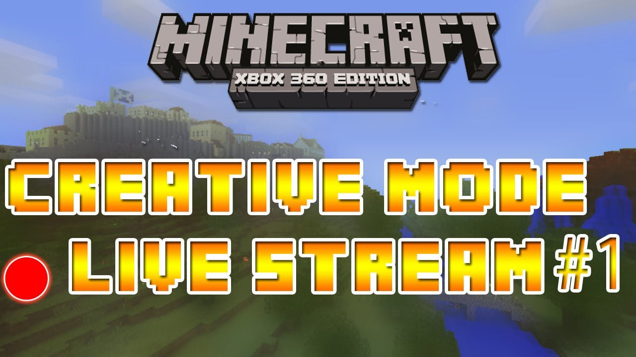 Minecraft xbox 360 how to get creative mode