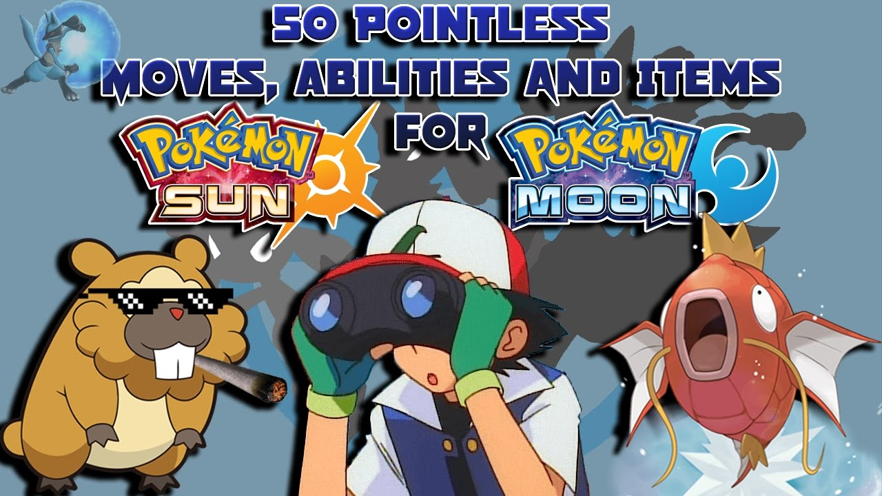 Pokemon sun and moon how to change abilities