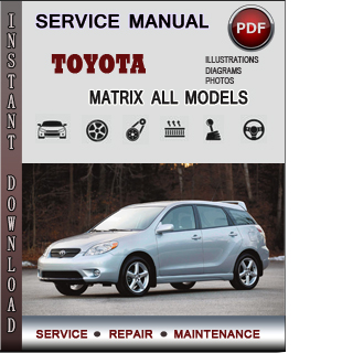 Toyota matrix service manual pdf