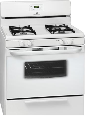 white westinghouse self cleaning oven instructions