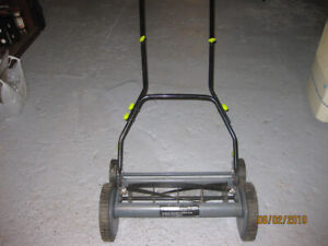 yardworks 14 reel mower manual